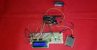 便携式雨量传感器|Portable Rain Sensor