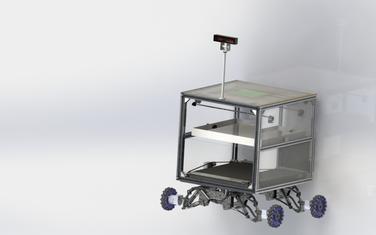 AI多腔体智能物流运载平台