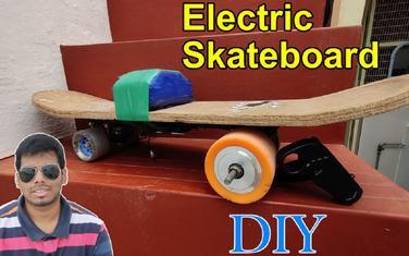 自制电动滑板|Homemade Electric Skateboard