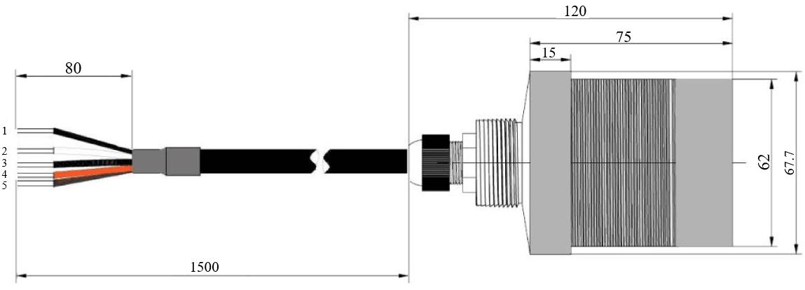 接口及尺寸示意图