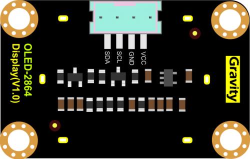 Gravity OLED-2864 Display接口定义