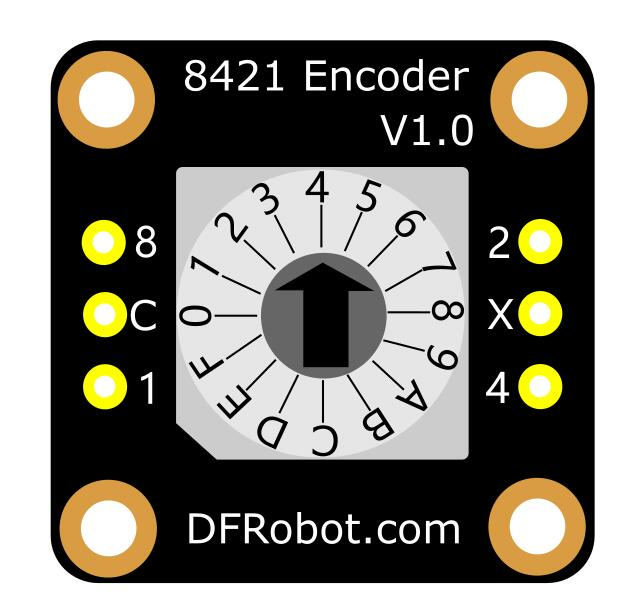8421 Encoder-Vertical 顶部