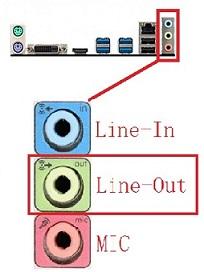 电脑音频接口