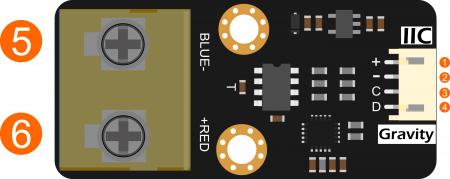 数字K型高温传感器 引脚说明