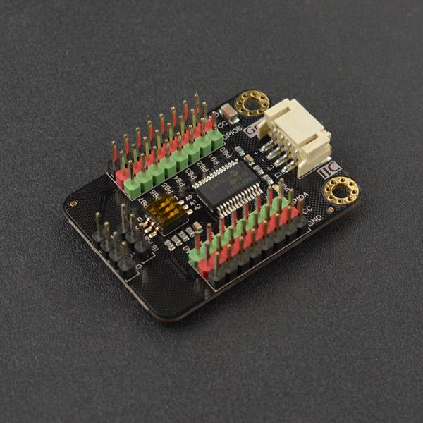 MCP23017 IIC 16位数字IO扩展模块