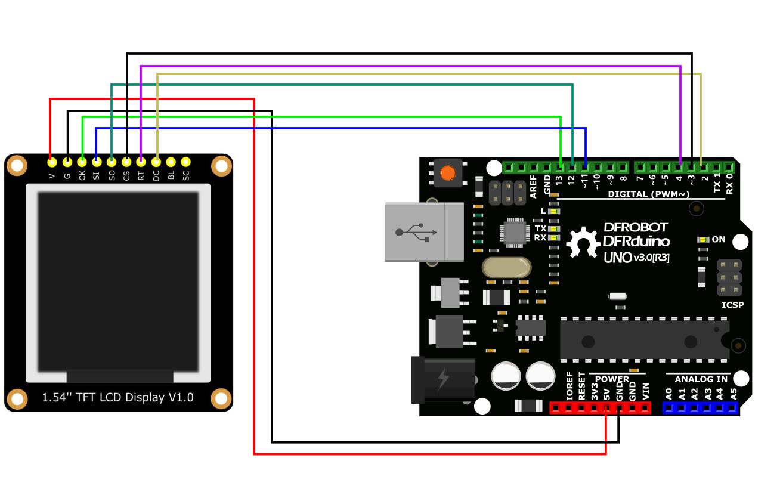 DFR0649 Connection Diagram